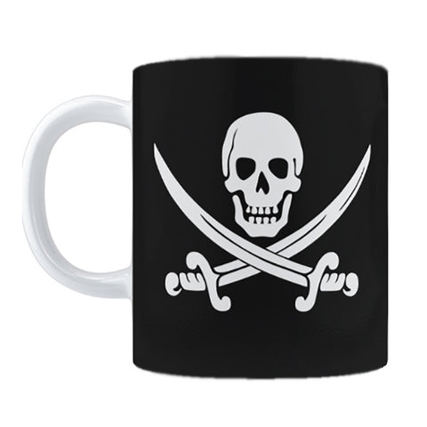 Calico Jack Jolly Roger Mug