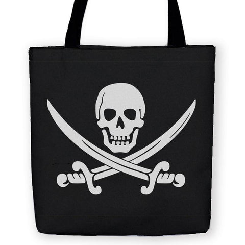 Calico Jack Jolly Roger Tote Bag