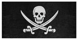 Calico Jack Pirate Jolly Roger Beach Towel
