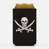 Calico Jack Pirate Jolly Roger Can Cooler