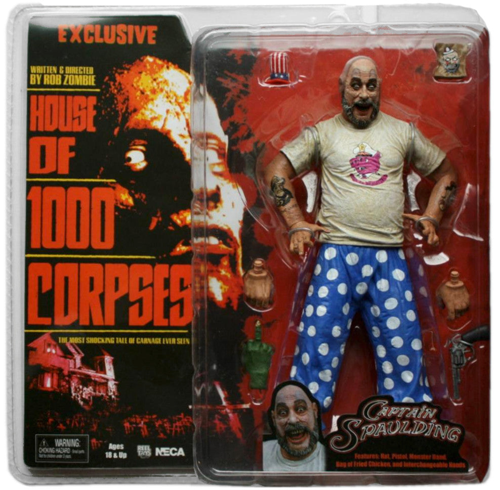 "House of 1000 Corpses CAPTAIN SPAULDING ""Pigs is Beautiful"" Variant Figure - Domestic Platypus"