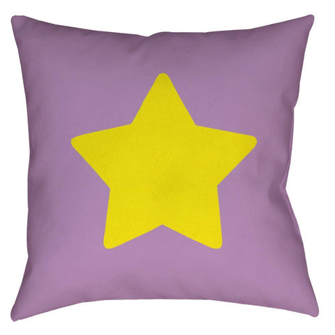Cartoon Star Throw Pillow - Domestic Platypus