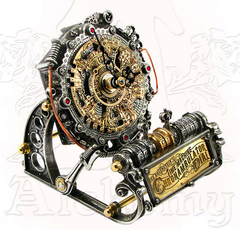 Alchemy Empire CHRONAMBULATOR DIAL Desk Clock