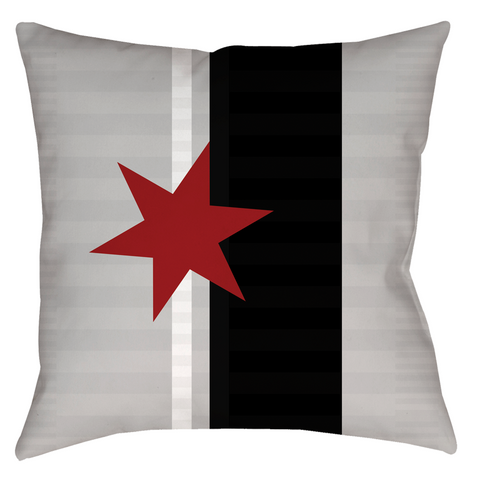 Star Comrade Throw Pillow