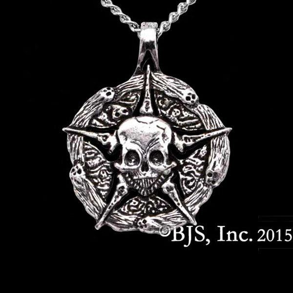 Court of the Dead UNDERWORLD UNITED Sterling Silver Medallion Necklace - Domestic Platypus