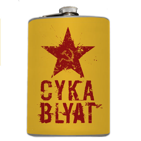 Cyka Blyat Flask - Domestic Platypus