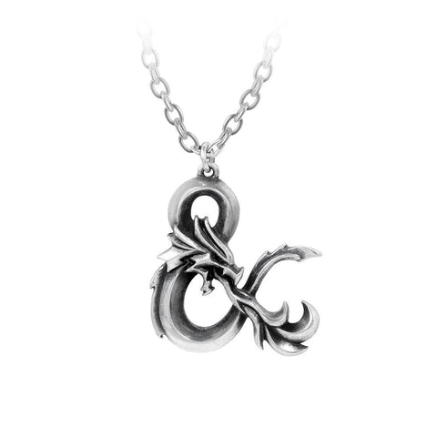 Dungeons & Dragons Ampersand Necklace, Alchemy Gothic