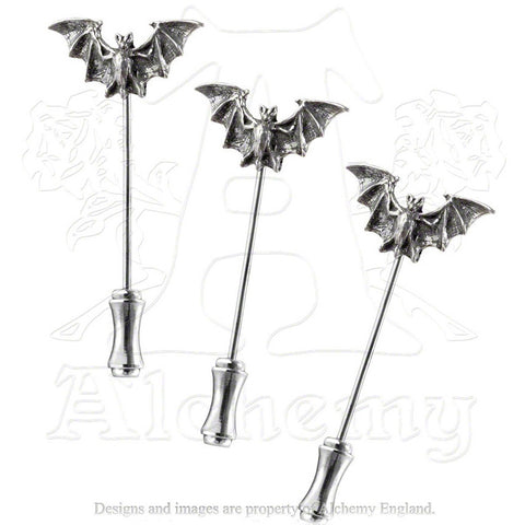 Alchemy Bat Dress Pins