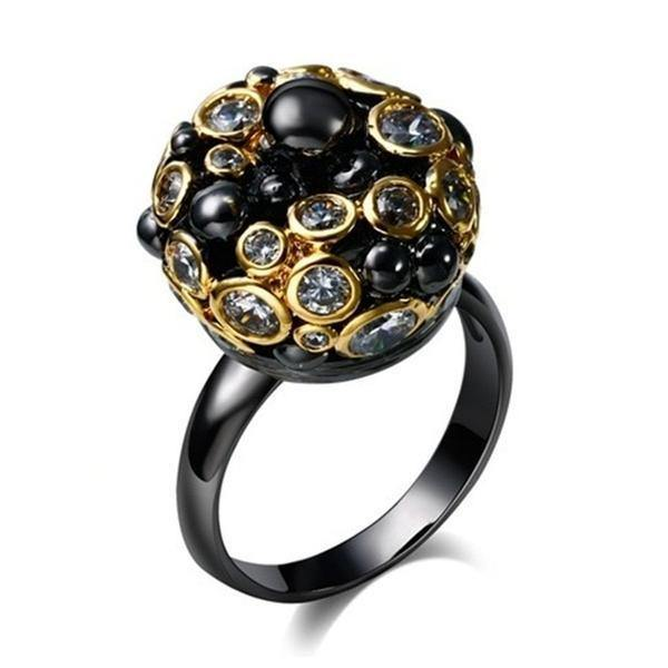 Black Bishop Ring, Dark Carnival