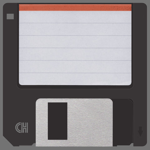 Retro 3.5 Floppy DIsk Floor Mat - Domestic Platypus