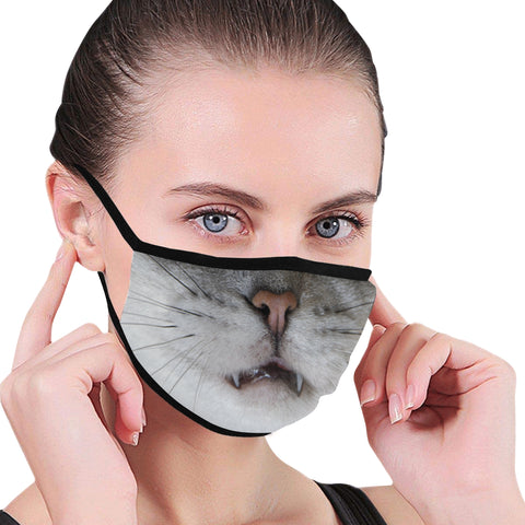 Persephone Sassy Cat Cloth Face Mask Cover