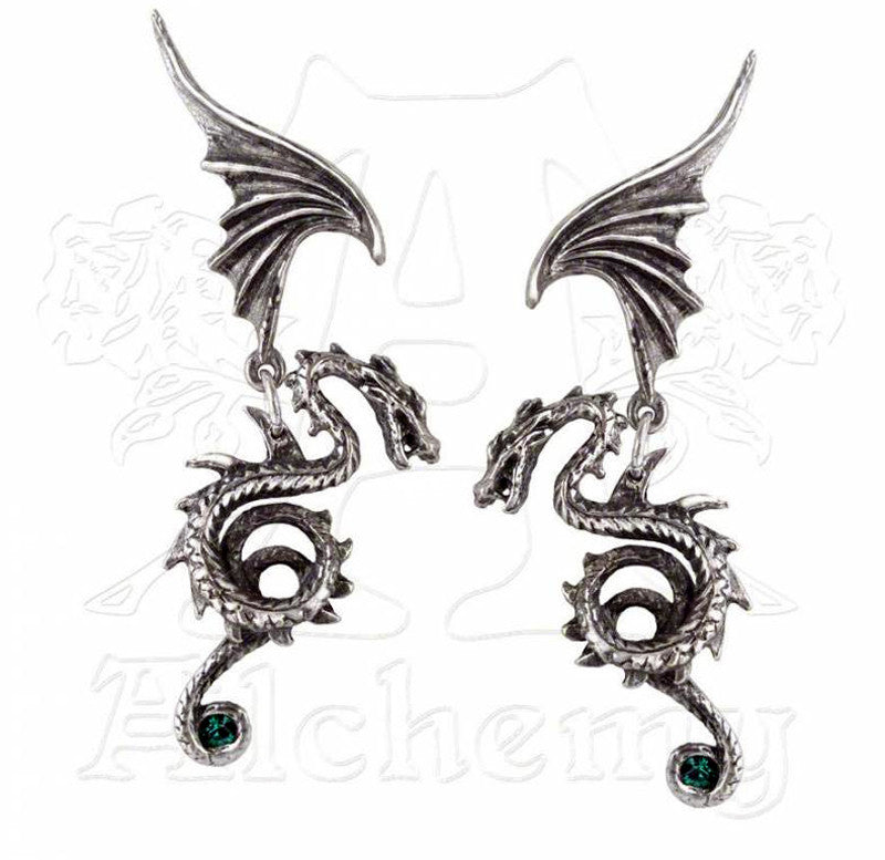 Alchemy Gothic BESTIA REGALIS Earrings - Domestic Platypus