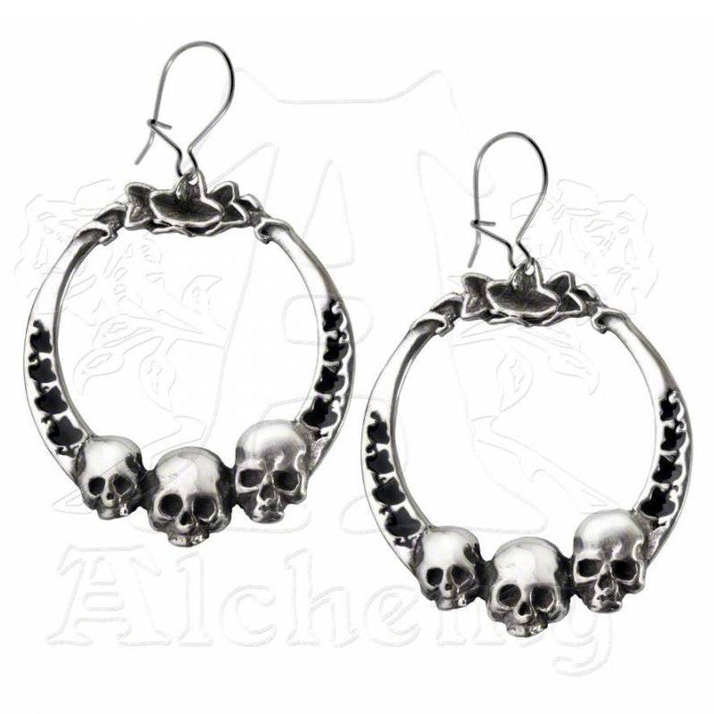 Alchemy Gothic IVY LEAGUE Earrings