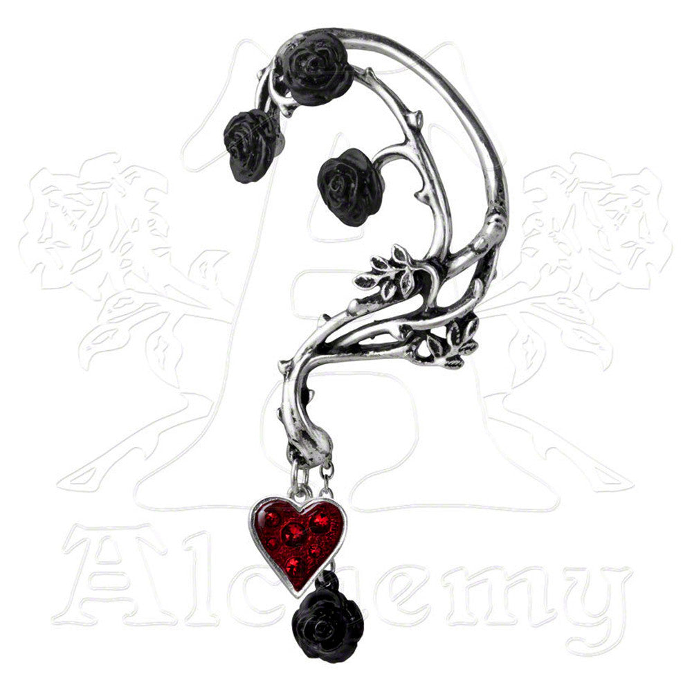 Alchemy Gothic BED OF BLOOD ROSES Ear Wrap - Domestic Platypus