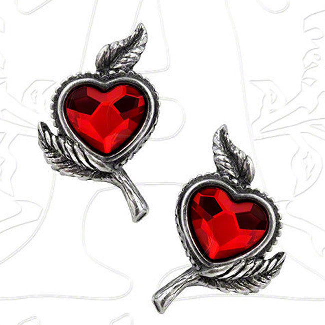 Alchemy Gothic LOVE'S BLOSSOM Earrings - Domestic Platypus