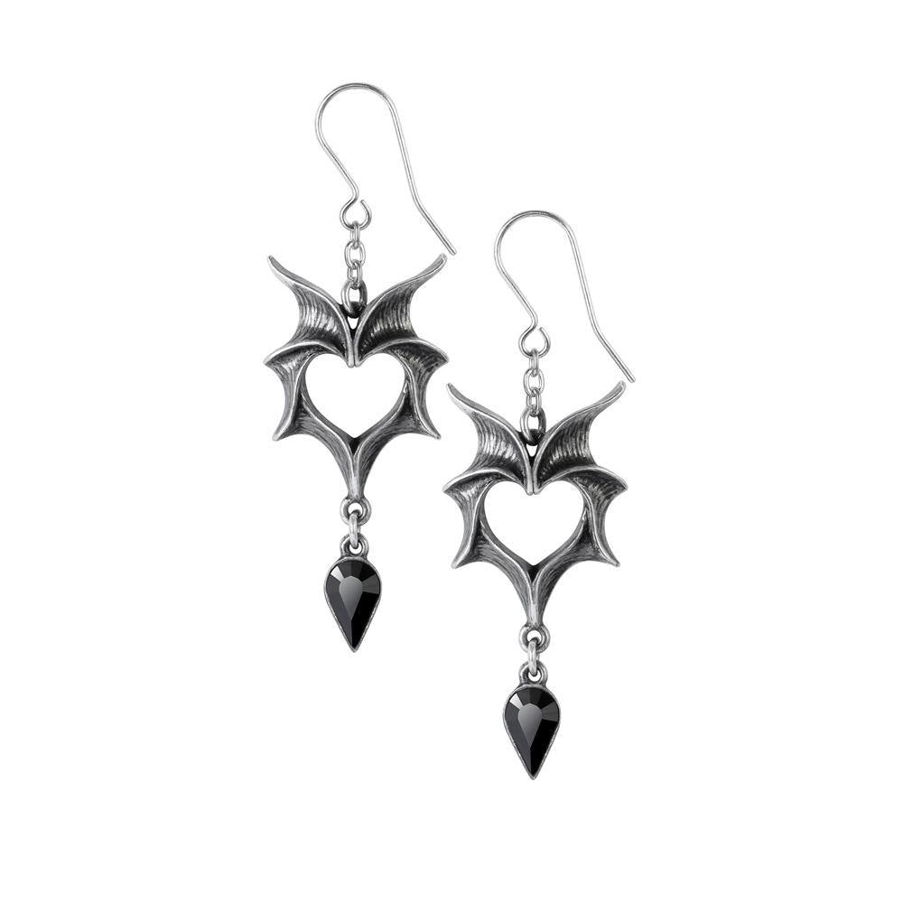 Love Bats Earrings, Alchemy Gothic