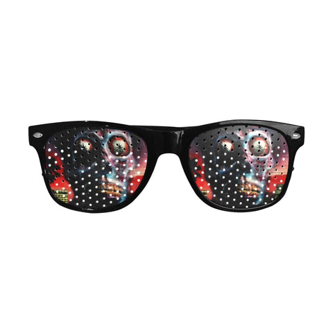 They Live Retro Pinhole Sunglasses