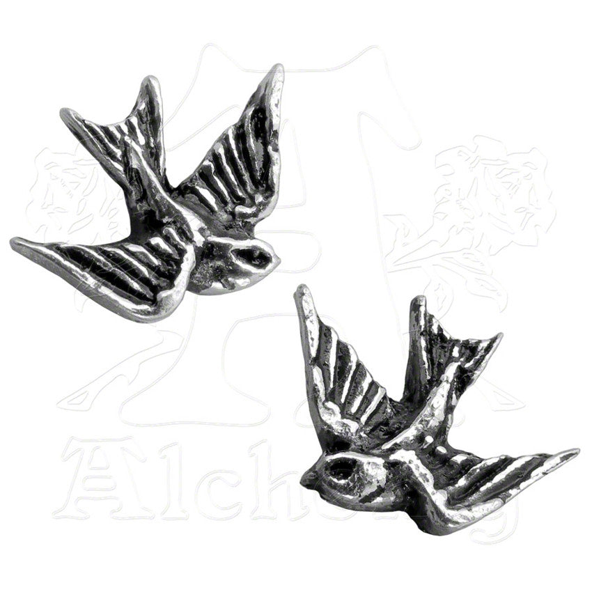 Alchemy of England SPARROW STUD Earrings - Domestic Platypus