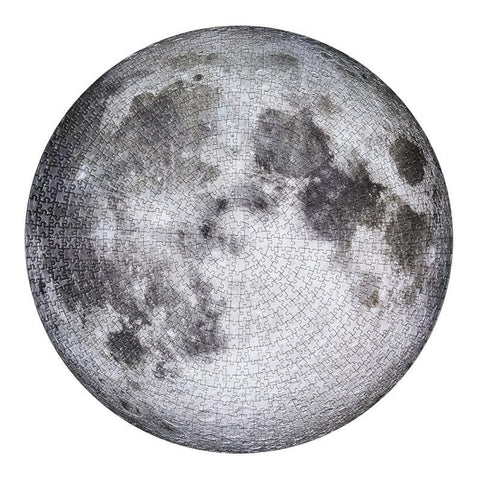 The Moon Round 1000 Piece Puzzle