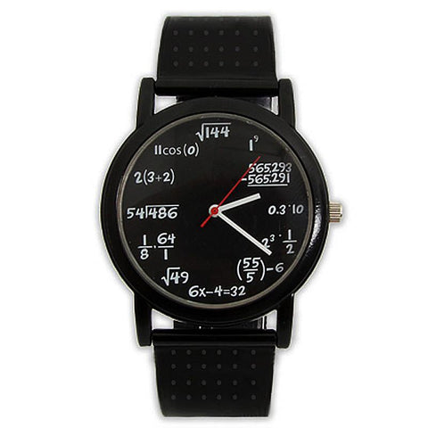 Mathematical Equation Watch - Domestic Platypus