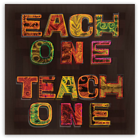 Each One Teach One Magnet - Domestic Platypus