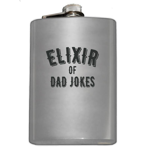 Elixir of Dad Jokes Flask