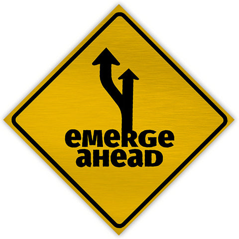 Emerge Ahead Magnet