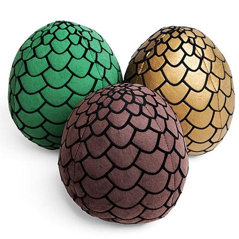 Game of Thrones DRAGON EGGS Plush Set
