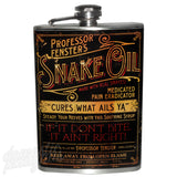Theatre Bizarre SNAKE OIL Flask