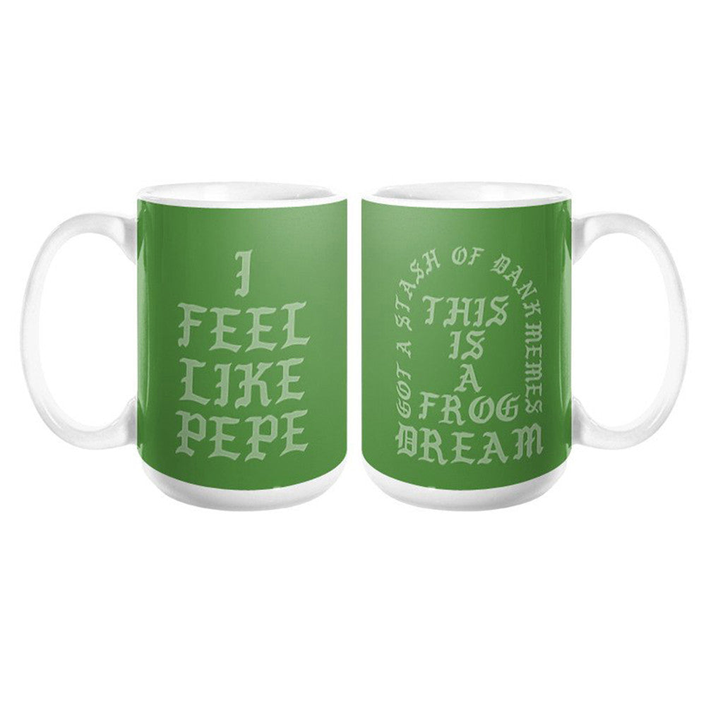 I Feel Like Pepe Frog Dream Mug - Domestic Platypus