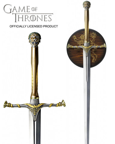 Game of Thrones Jaime Lannister's Sword - Domestic Platypus