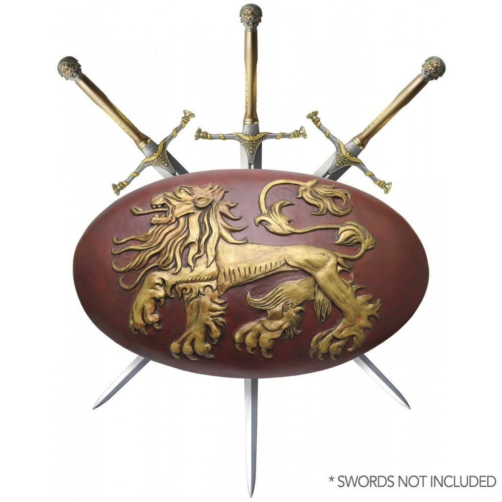 Game of Thrones Lannister Shield / Sword Display - Domestic Platypus