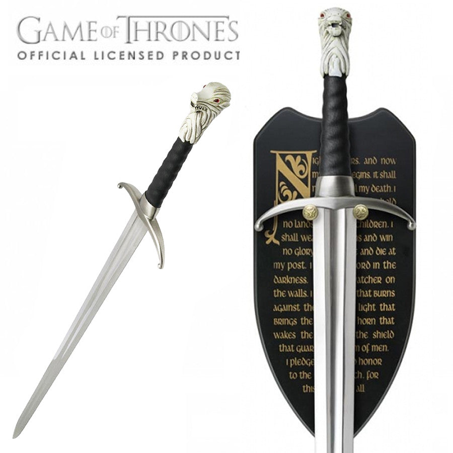 Game of Thrones LONGCLAW Sword - Domestic Platypus