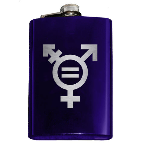 Gender Equality Symbol Flask - Domestic Platypus