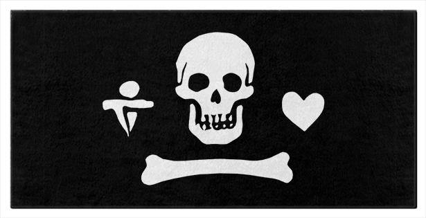 Gentleman Pirate Towels