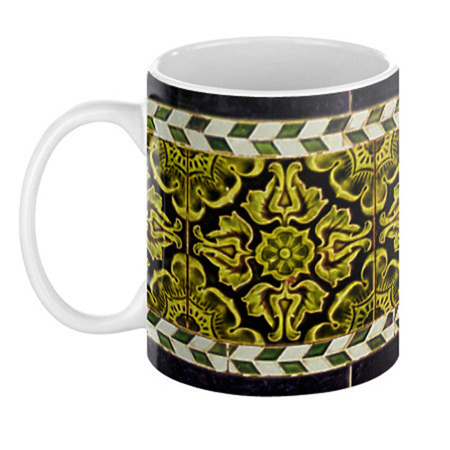 Green Victoria Mug - Domestic Platypus