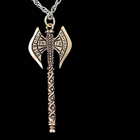 Lord of the Rings KHUZDUL Dwarven Battle Axe Necklace - Domestic Platypus