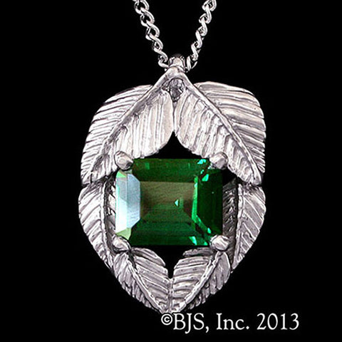 The Hobbit Official EMERALDS OF GIRION Mirkwood Elven Necklace - Domestic Platypus