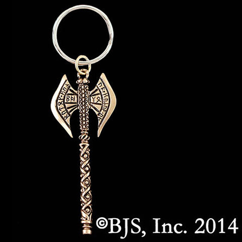 Lord of the Rings KHUZDUL Dwarven Battle Axe Keychain - Domestic Platypus