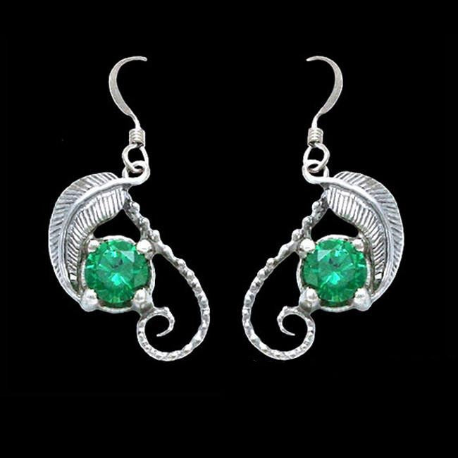 The Hobbit Official MIRKWOOD Emeralds of Girion Elven Earrings - Domestic Platypus