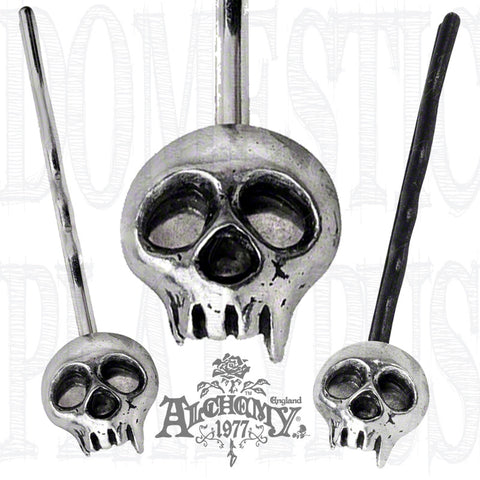 Alchemy Gothic SKULLY Hair Grip - Domestic Platypus