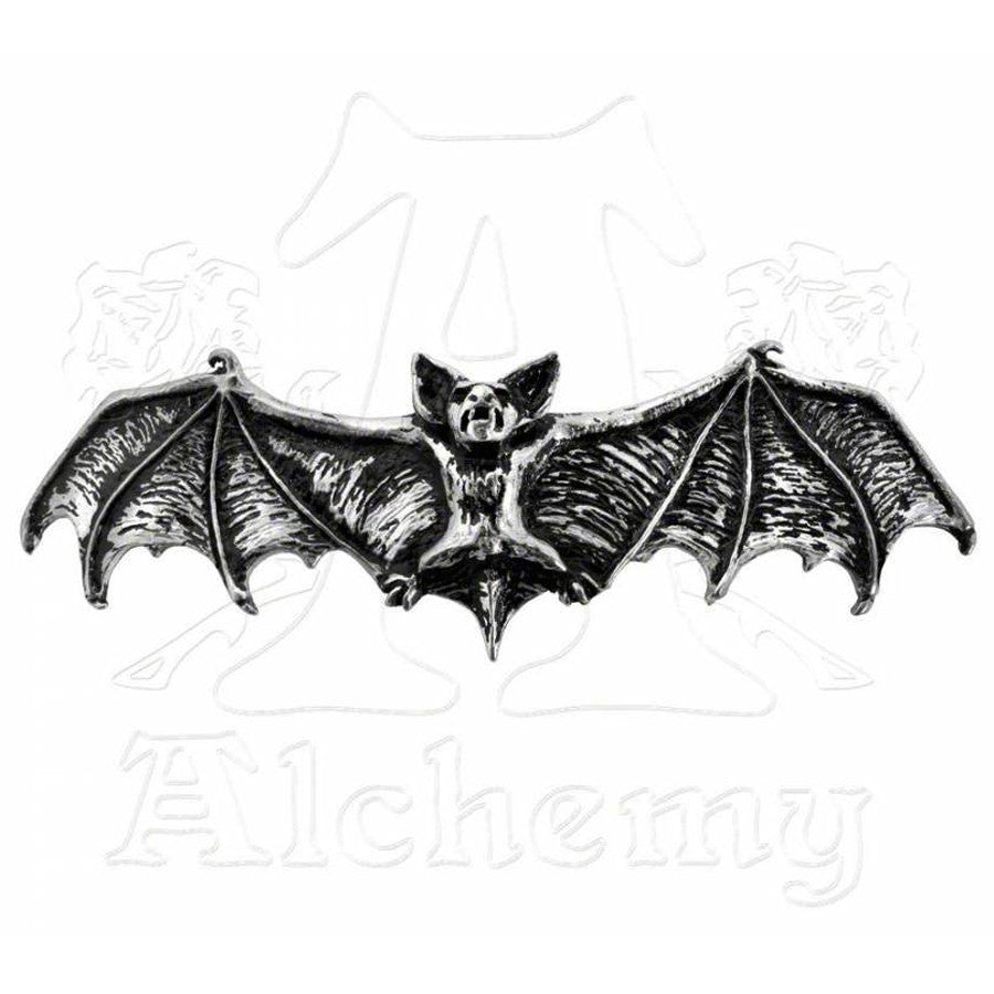 Alchemy Gothic DARKLING Bat Hair Clip