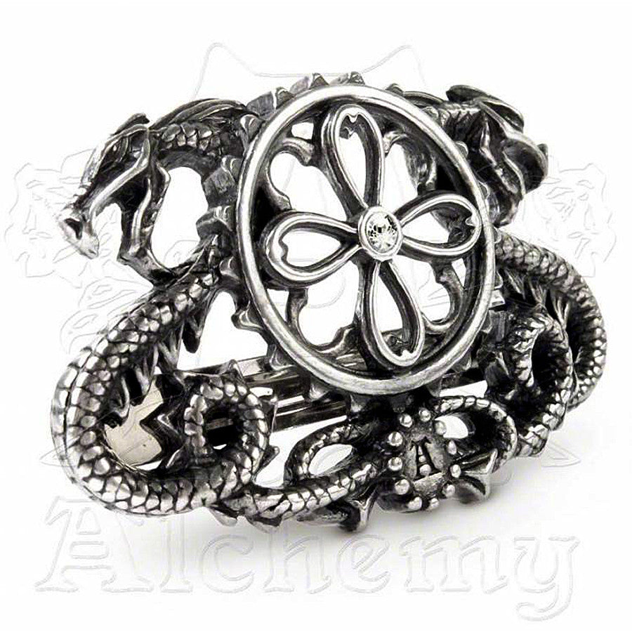 Alchemy Gothic DRAGO-TRACTION Hair Barrette