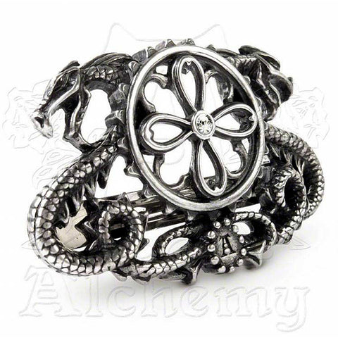 Alchemy Gothic DRAGO-TRACTION Hair Barrette - Domestic Platypus