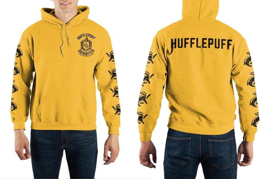 Harry Potter Hufflepuff Quidditch Hoodie