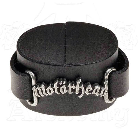 Motorhead Leather Wrist Strap Bracelet - Domestic Platypus