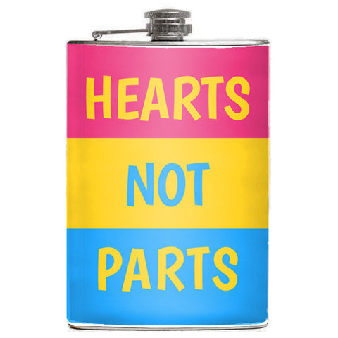 Hearts Not Parts Flask - Domestic Platypus
