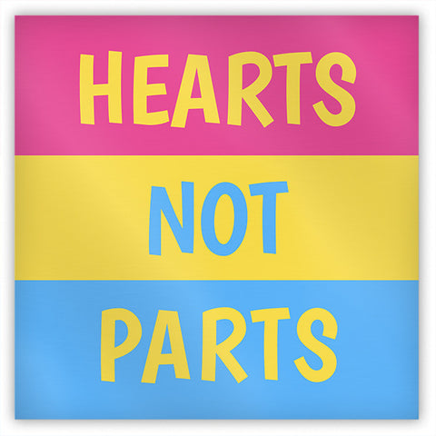 Hearts Not Parts Magnet