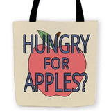 Hungry for Apples Tote - Domestic Platypus