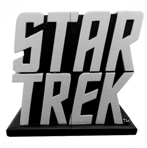 STAR TREK Classic Logo Bookends - Domestic Platypus
